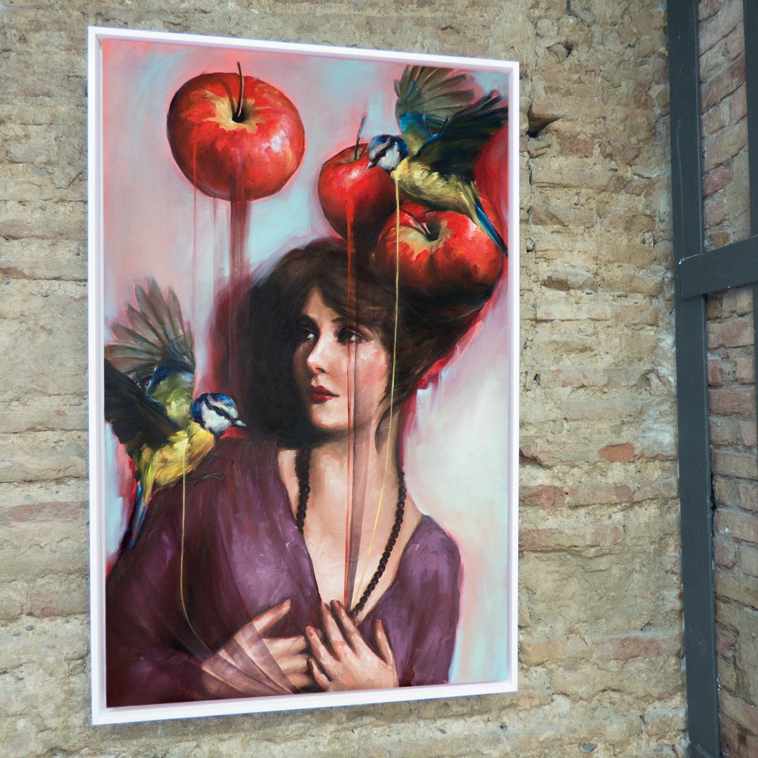 mary with apples all our stories bay backner.jpg