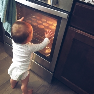 Mama's little helper!