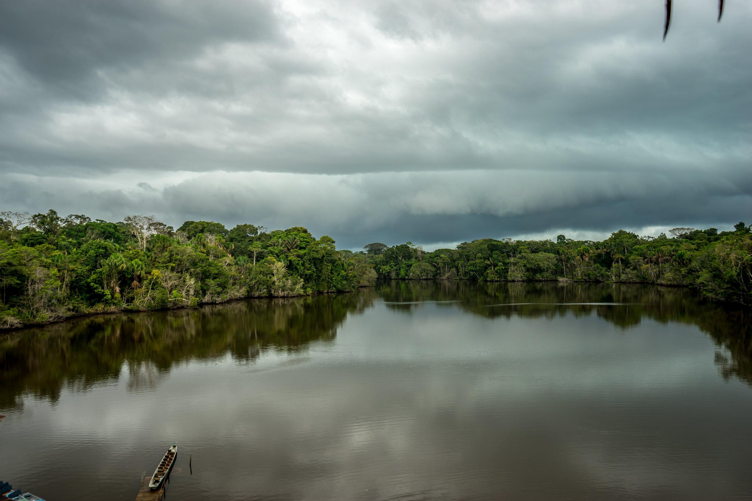 Approaching Amazon Rain Storm