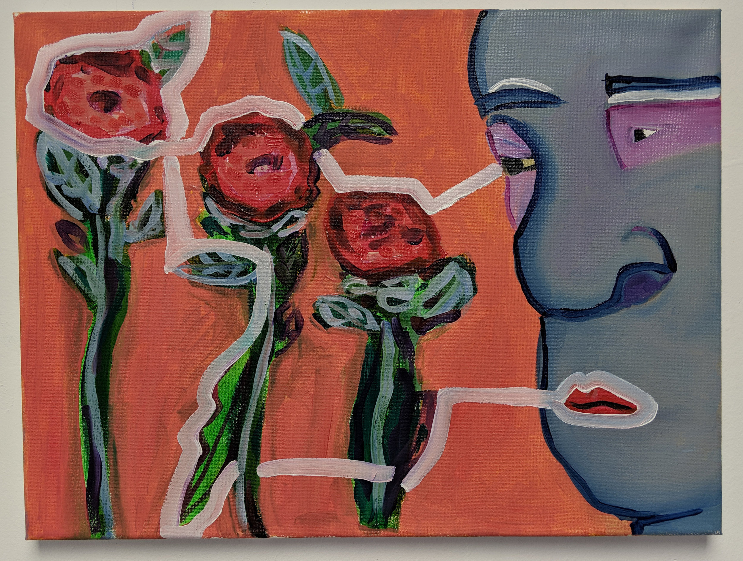 Line (Roses), 2019