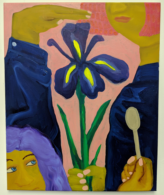 Flower Eaters (Iris), 2019