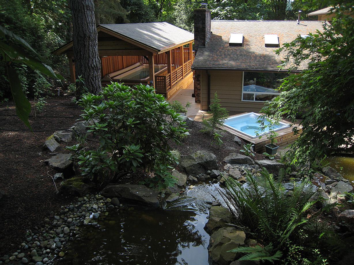 Hot Tub and Swim Spa Complex