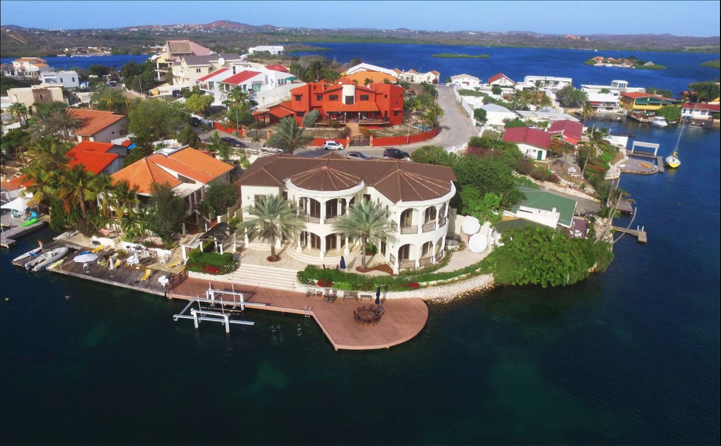 $3,700,000  Jan Sofat Waterfront Villa 224 Willemstad South, Curaçao 4 beds | 7 baths | 7203 square feet    View More