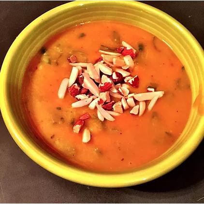 Sweet Potato White Bean Soup