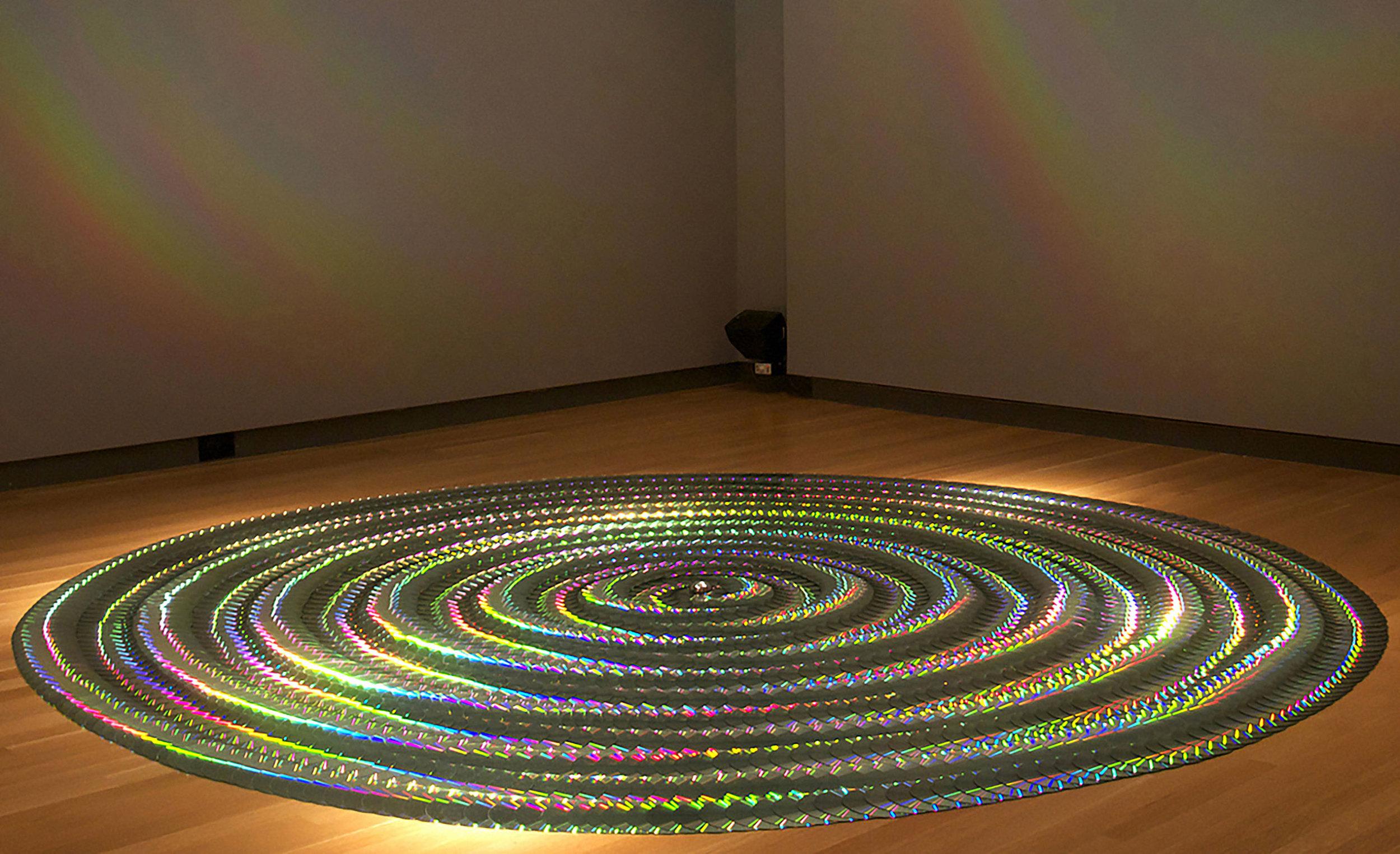 Pemarom   8 ft. diameter CDs edition of 5 Loyola University Museum of Art 2013