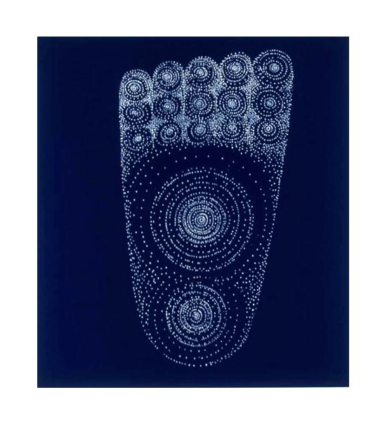 Buddhapada    Archival Pigment Print 10 x 11 inches 2004