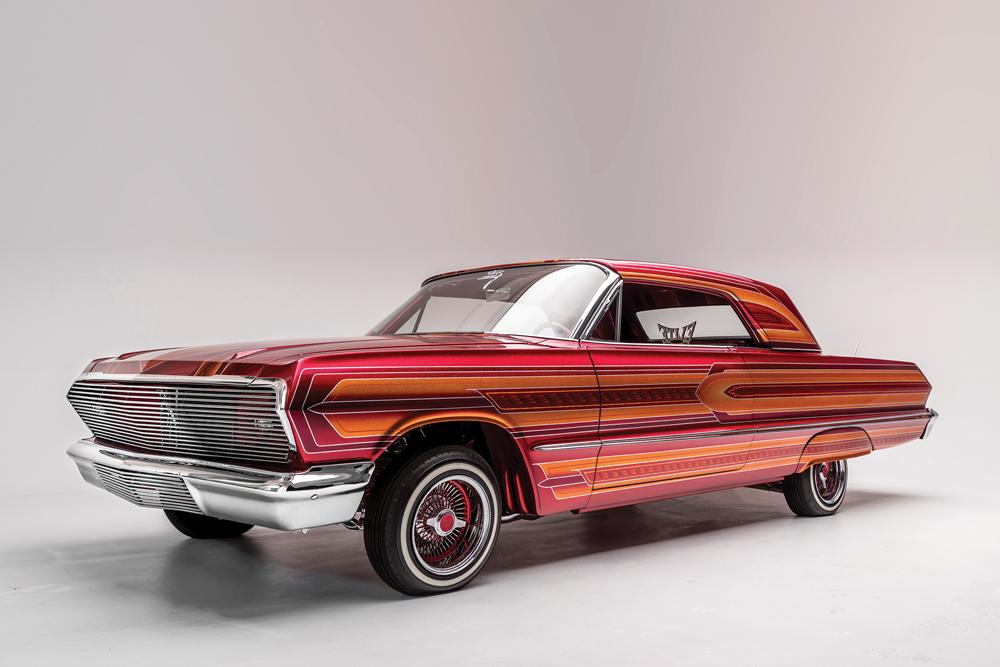 Albert de Alba, Sr., El Rey, 2011, 1963 Chevrolet Impala. Collection of Albert de Alba, Sr. (Elite Car Club).