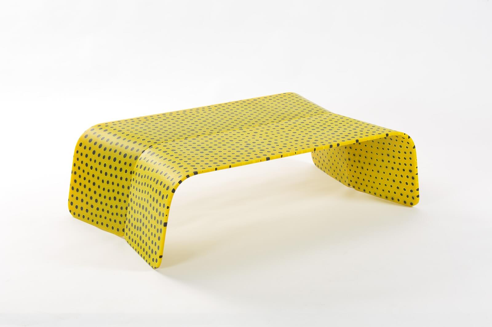 Marc Newson, 'Murrina Low Table Yellow', 2017 © Marc Newson. COURTESY: Gagosian / PHOTOGRAPH: Jaroslav Kvíz.