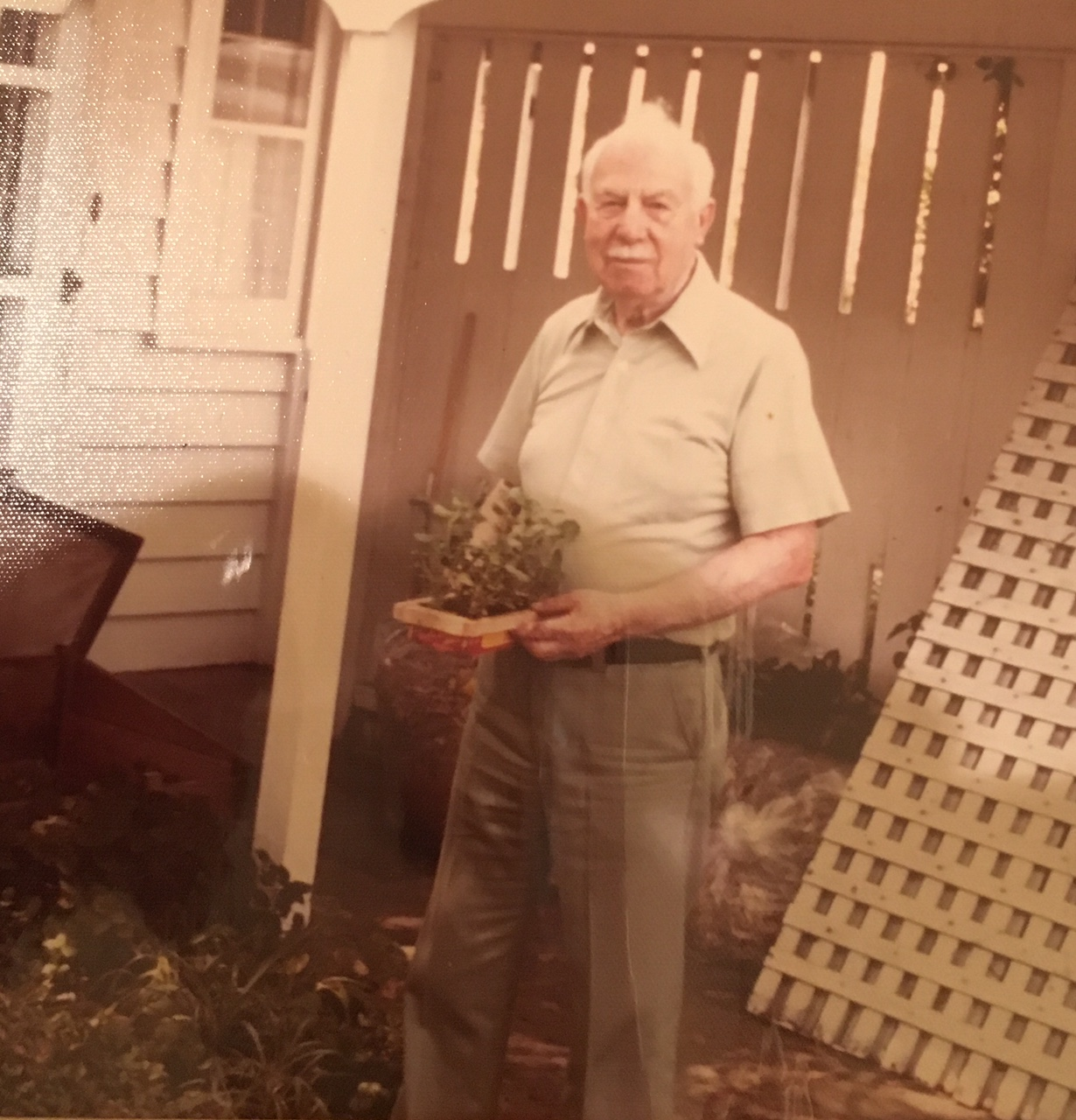 My grandfather, R.O Nelson.