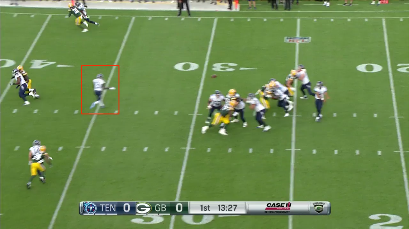 On the first drive, Mariota hit Nick Williams but had a wide open Taywan Taylor underneath.