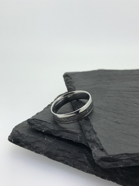 Stainless Steel and Damascus Steel Ring - From Summer 2017