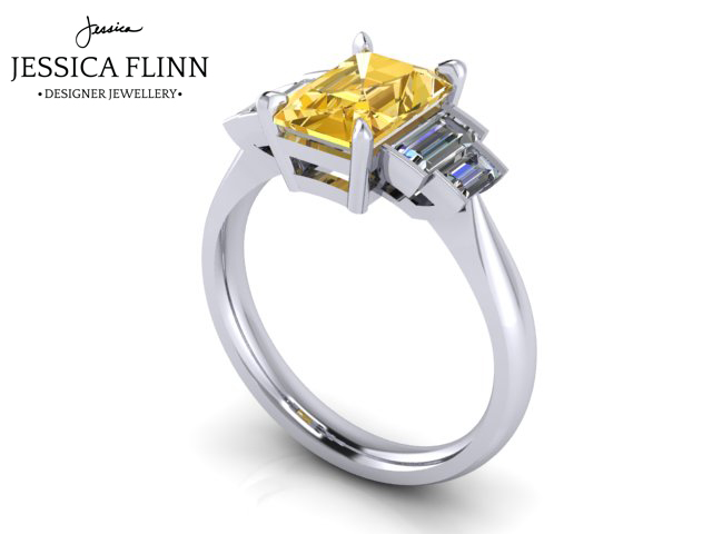 Collection - All of our bespoke pieces come with a complimentary ring re-size, clean and polish. Our engagement ring customers have the benefit of discounts on their wedding rings and future jewellery purchases.When your ring is ready to collect it will be in a branded Jessica Flinn box. With it is a folder which includes your valuation for insurance purposes. The folder also contains a copy of your sketches or mockups and CAD images.Ready to get booked in?Book your appointment now - click hereContact us - click here