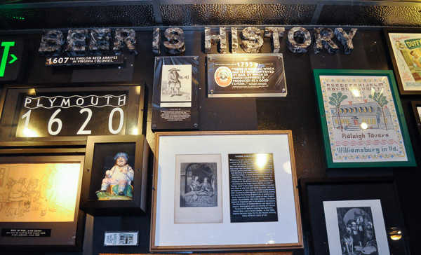 Beer is History signage