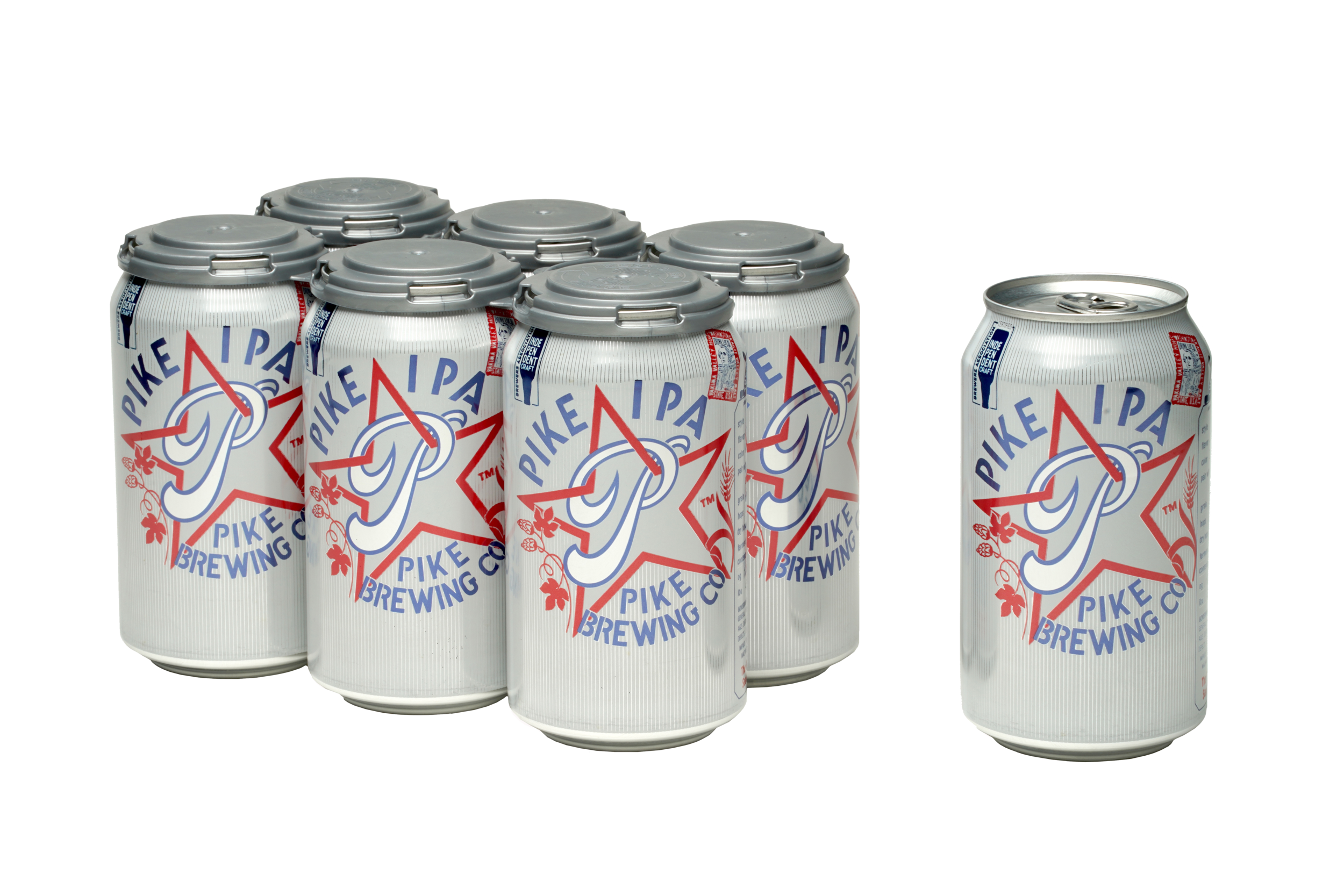 Pike IPA cans