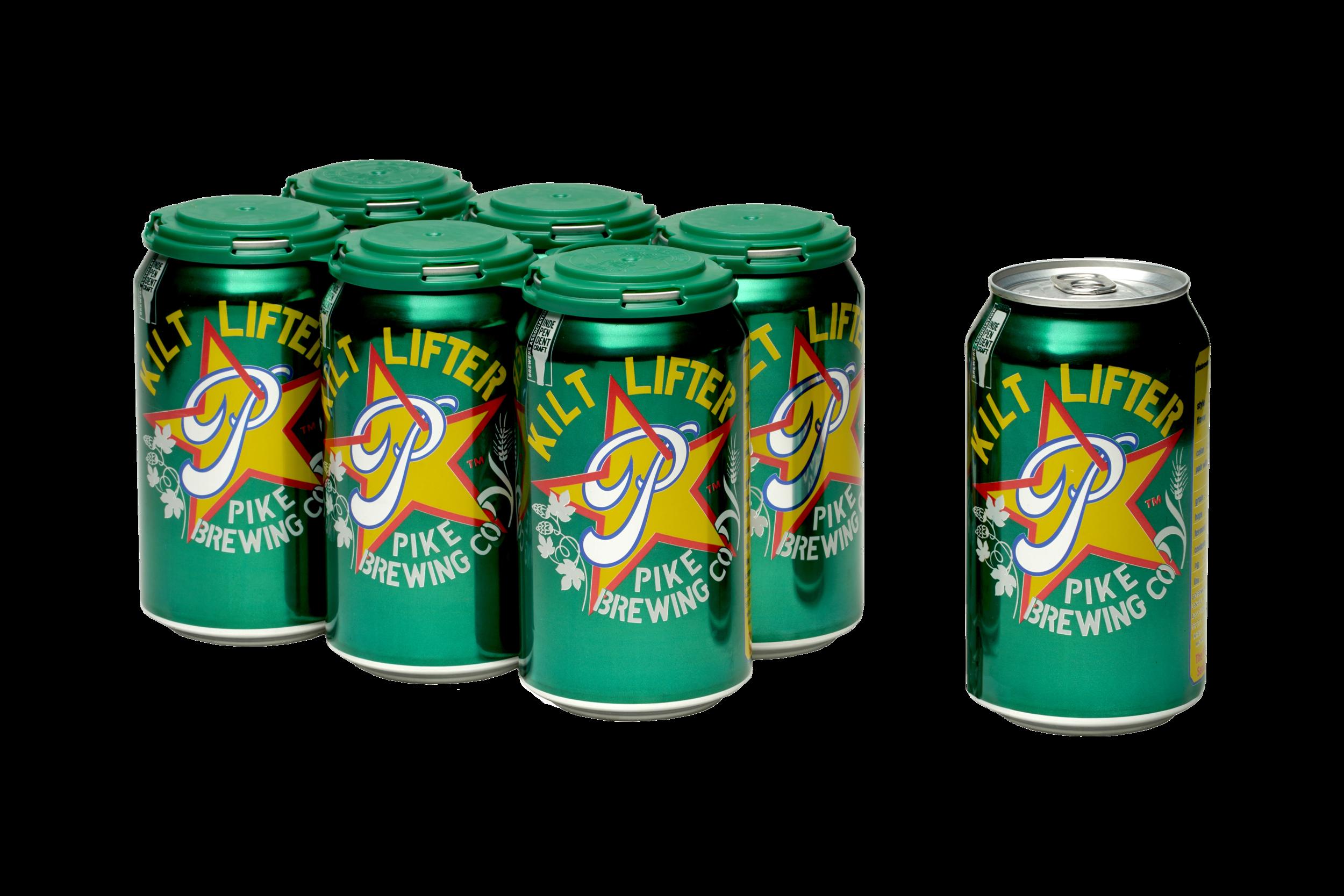 Pike Kilt Lifter cans