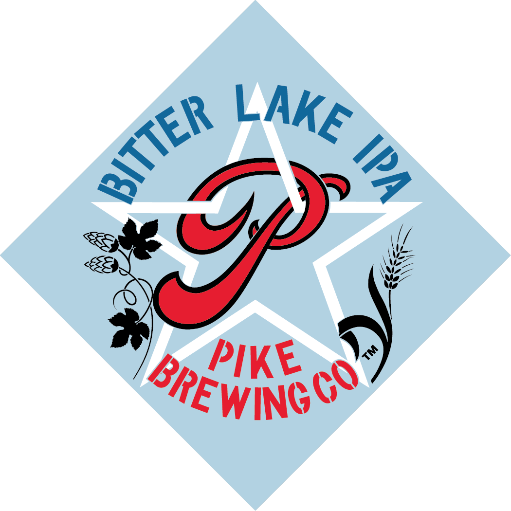 Pike Bitter Lake IPA logo