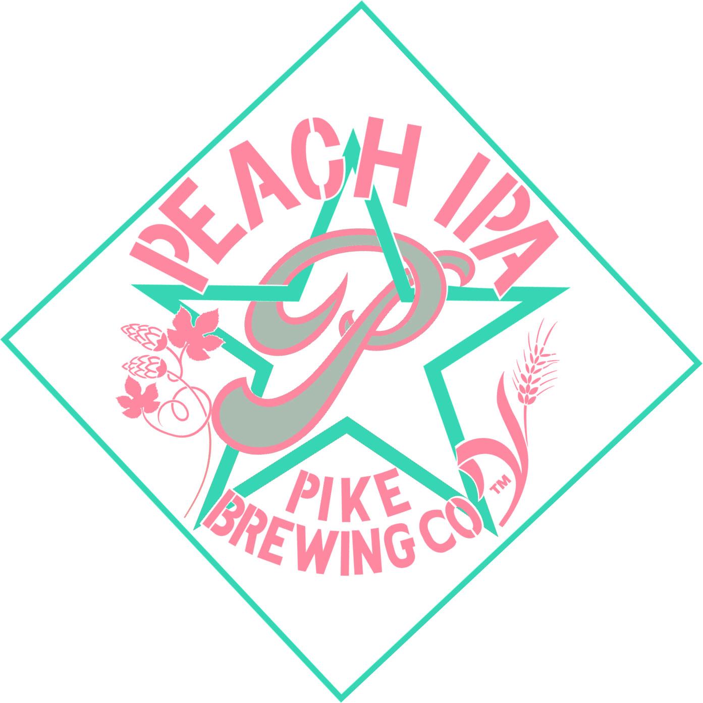 Pike Peach IPA logo