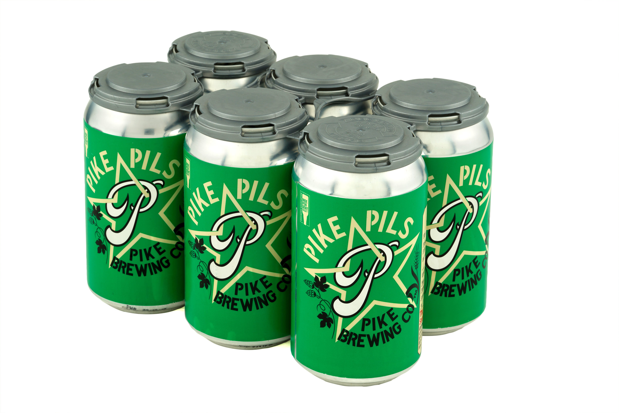 Pike Pils cans
