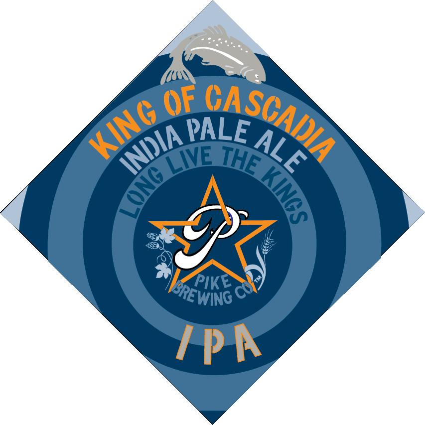 Pike King of Cascadia IPA logo