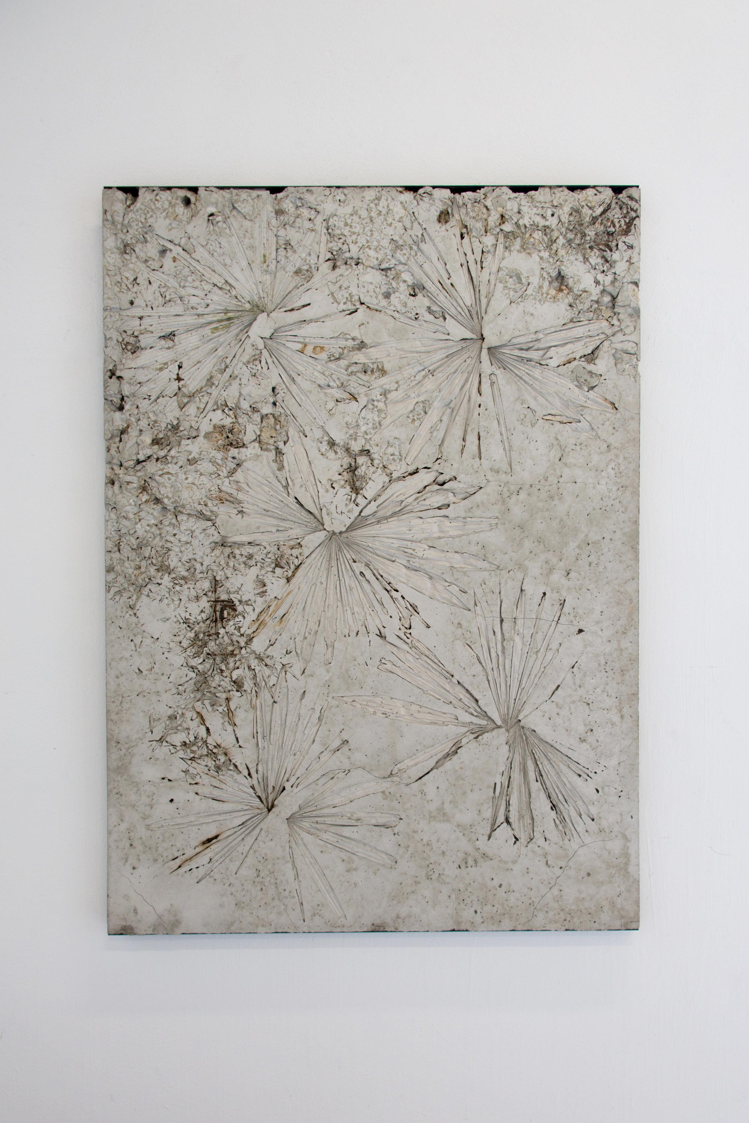 Alessandro Piangiamore   Ieri Ikebana 29032017 , 2017 Concrete, flora, metal