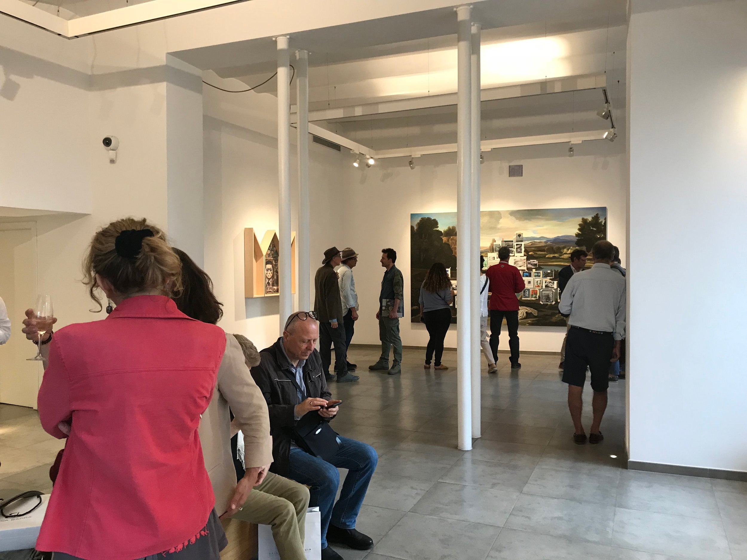 Opening at Mucciaccia Gallery, Rome