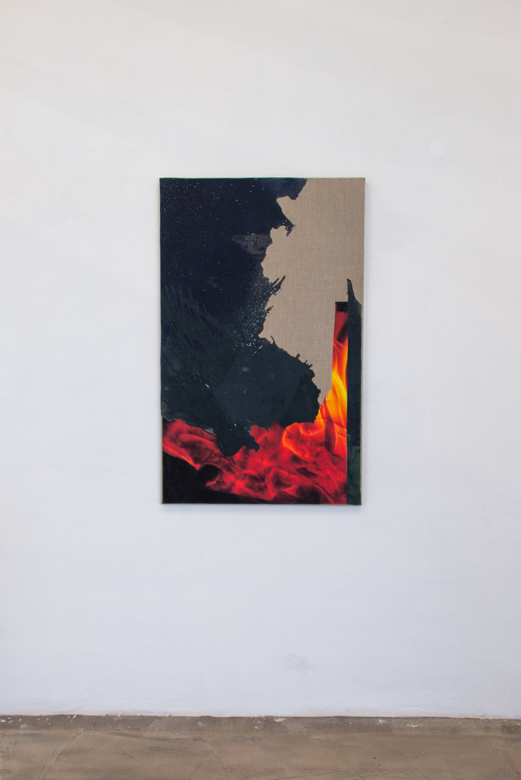 Gianni Politi   Night Finds You , 2017 Paint on Canvas