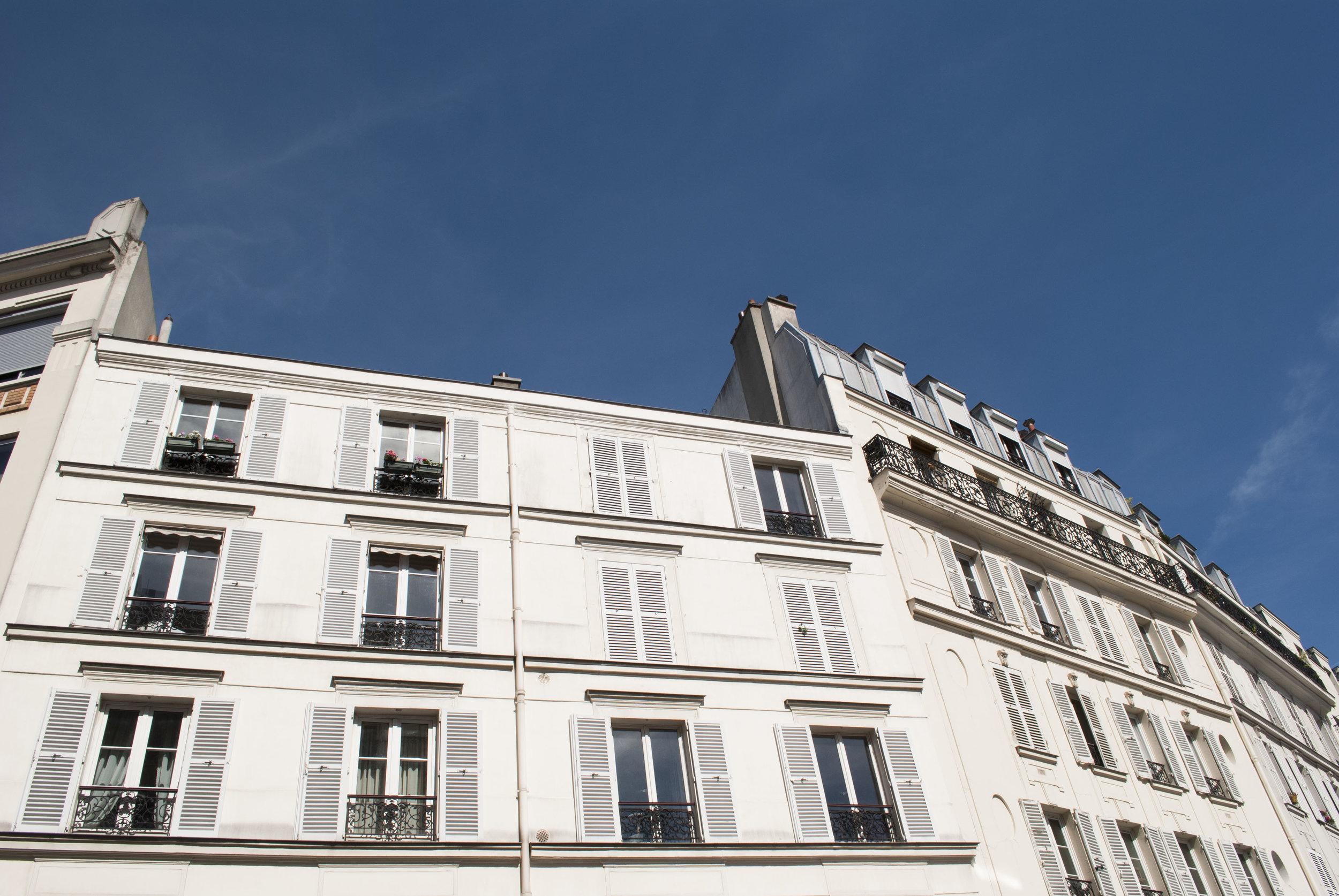 Van Gogh's apartment in Montmartre.