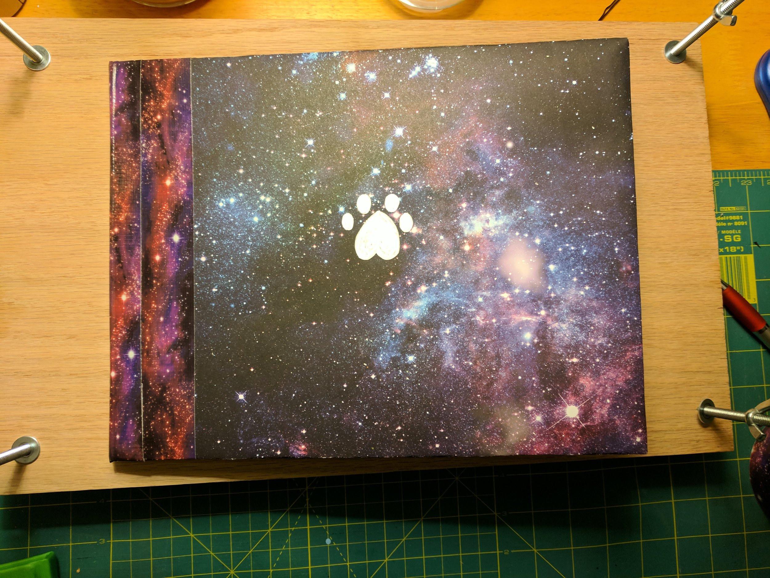 Book I created from scratch for my boyfriend and his husky, told from the point of view of his husky.