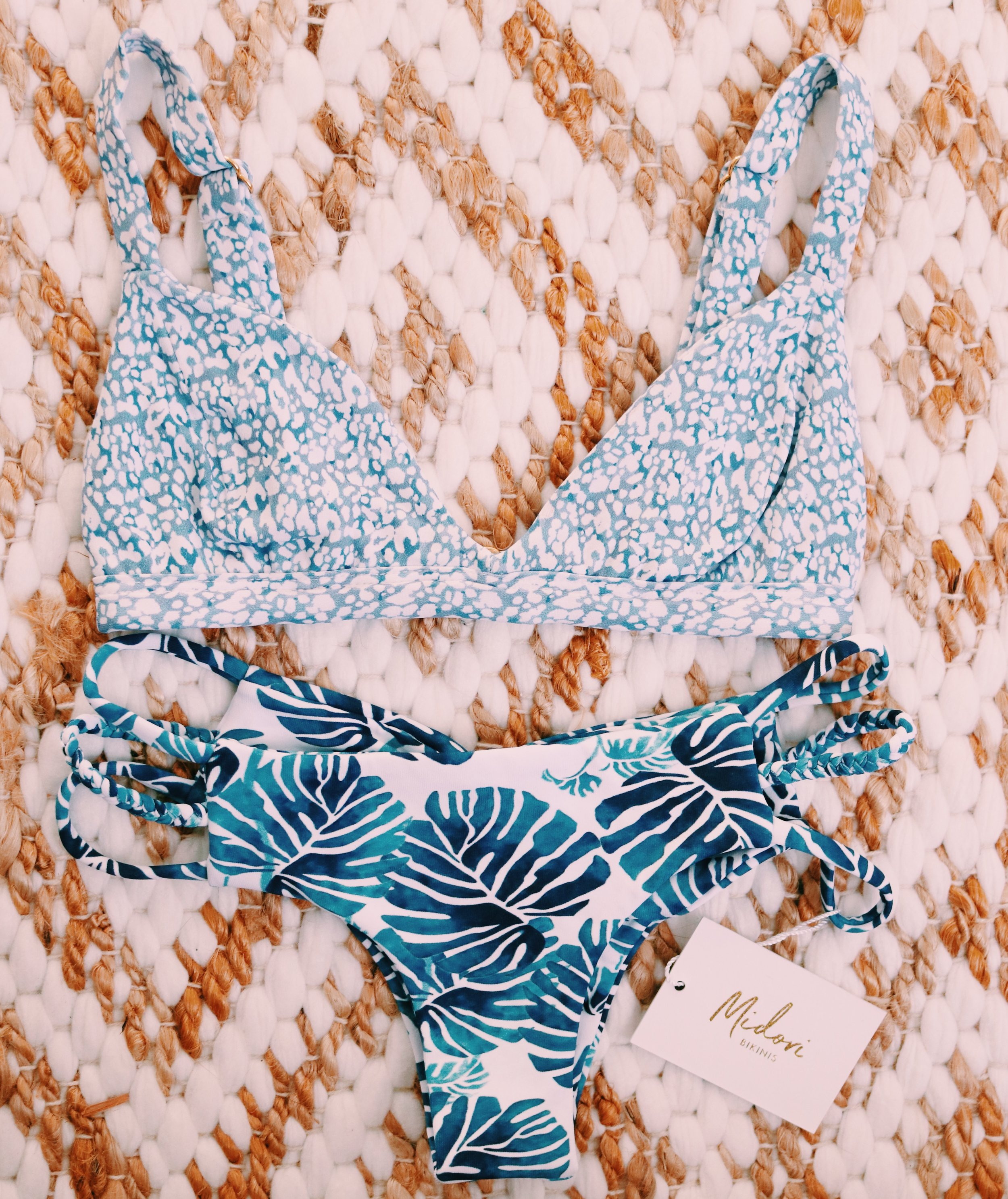 Joie Top // Pebble - Emmie Bottoms // Frond