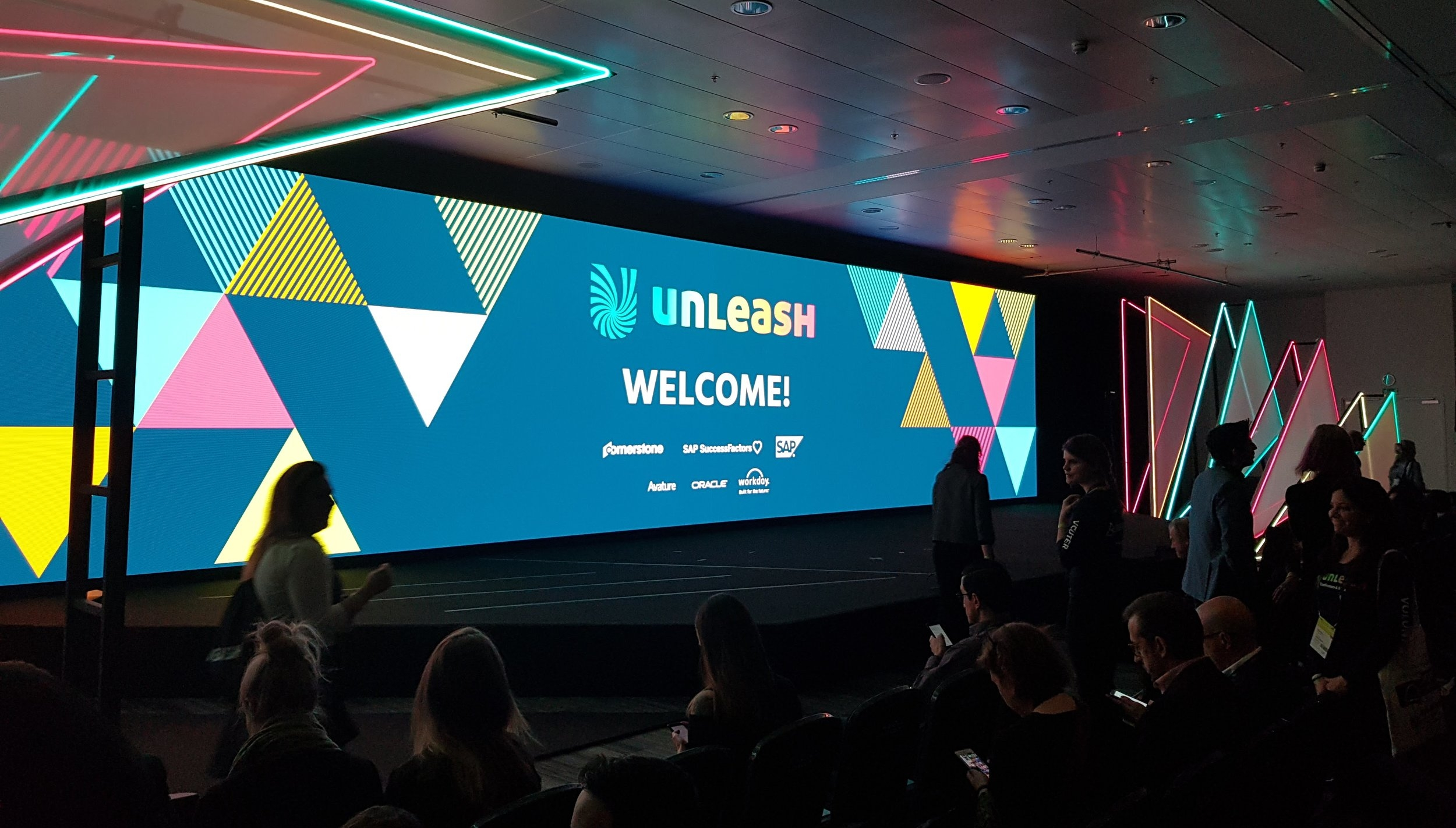 """Unleash 2018 says """"Welcome"""" for the first time!"""