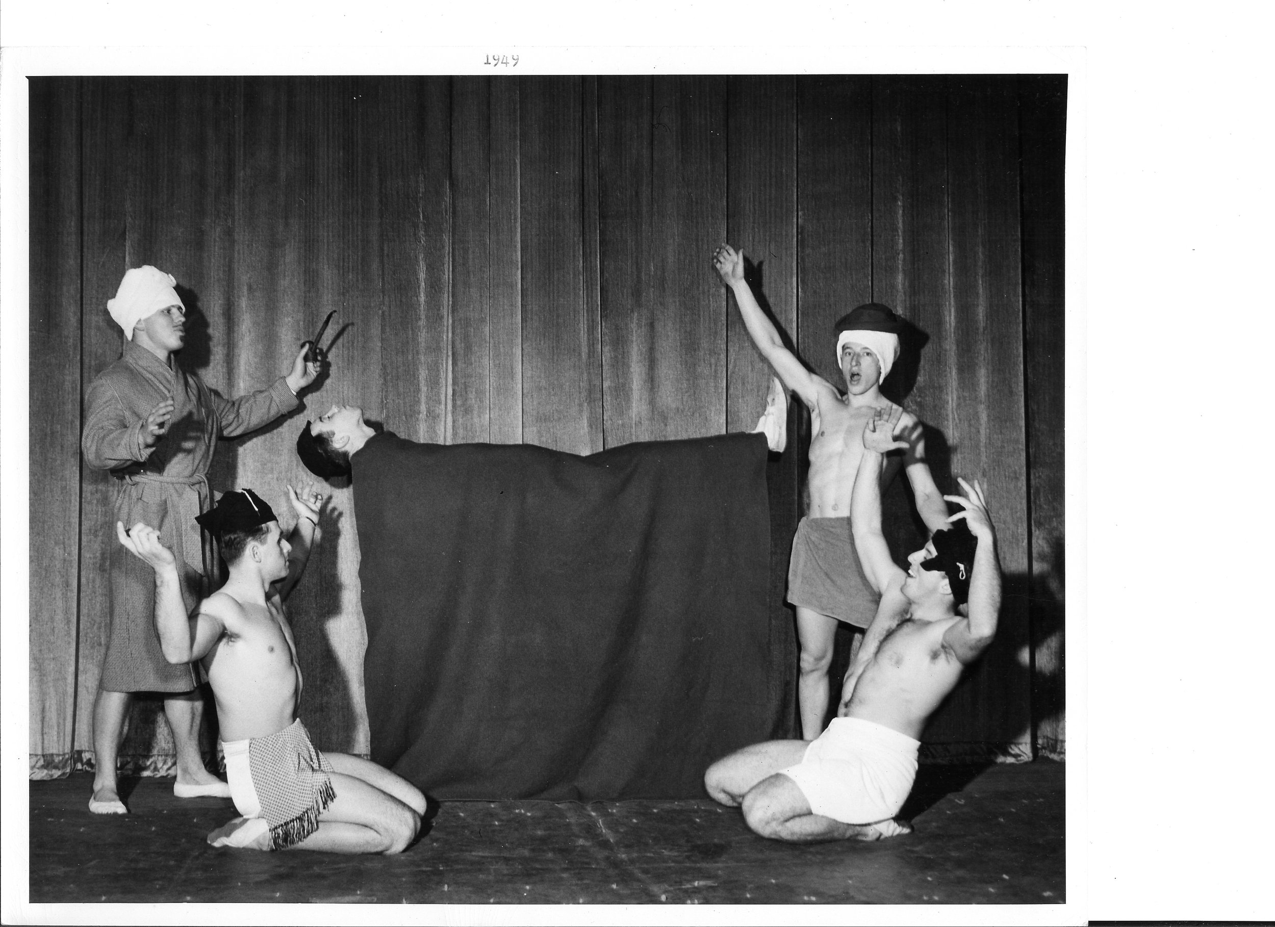 1949 Levitation Mystery - George Sorg, Chuck Finch, Bill Harris, Bill Foland, Harold Buckley.jpg