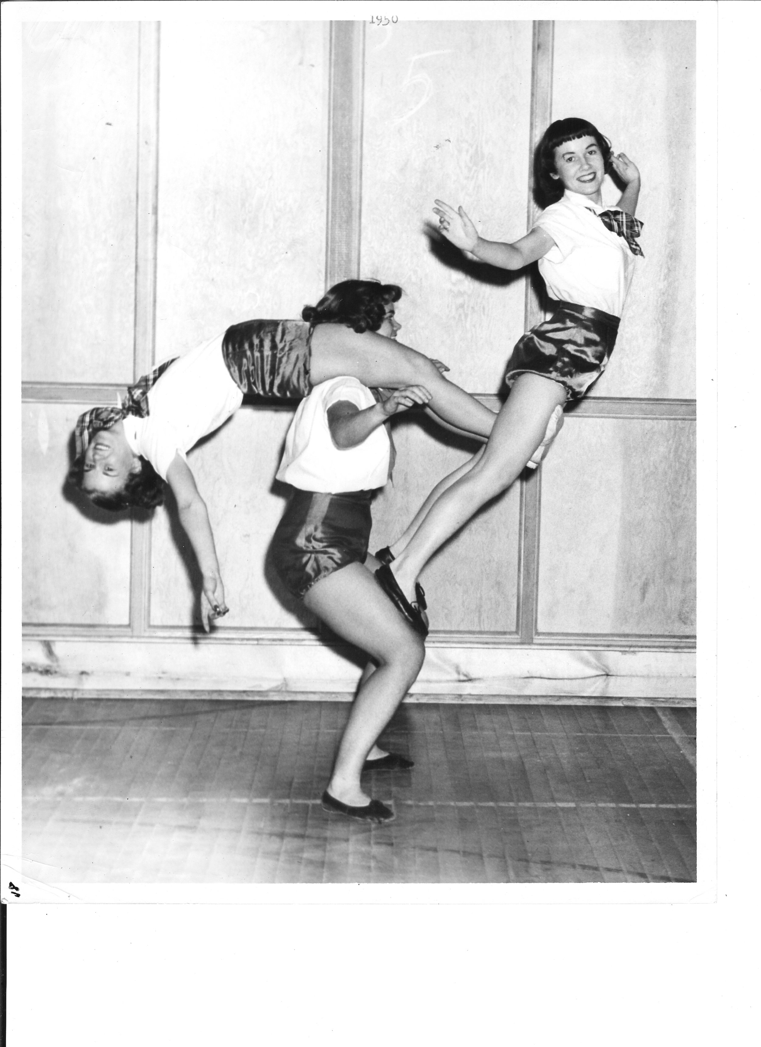 1950 Lois Jackson, Marion Copping and Virginia Ritter.jpg