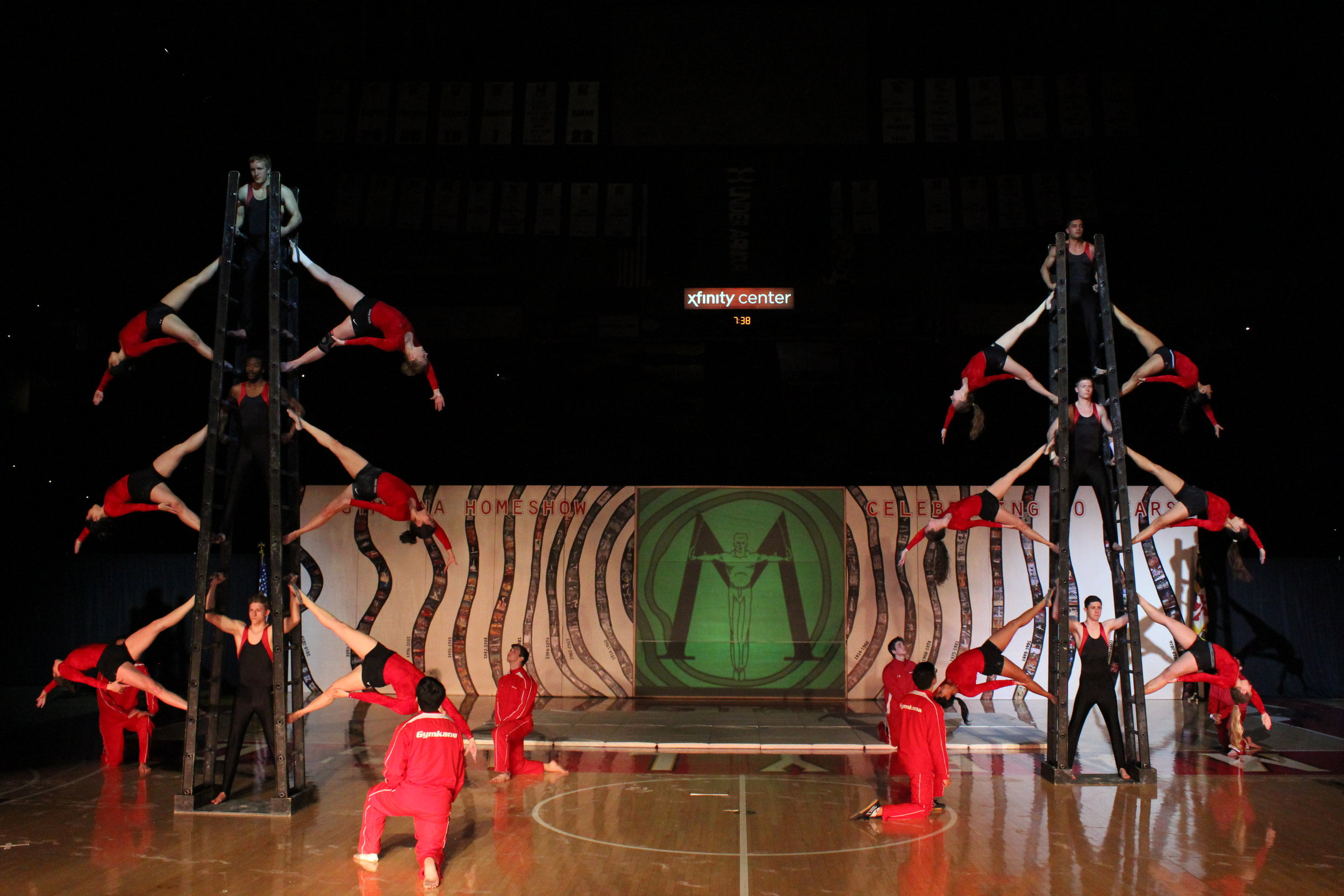 The Ladders act performed at the 70th Anniversary Home Show in 2017