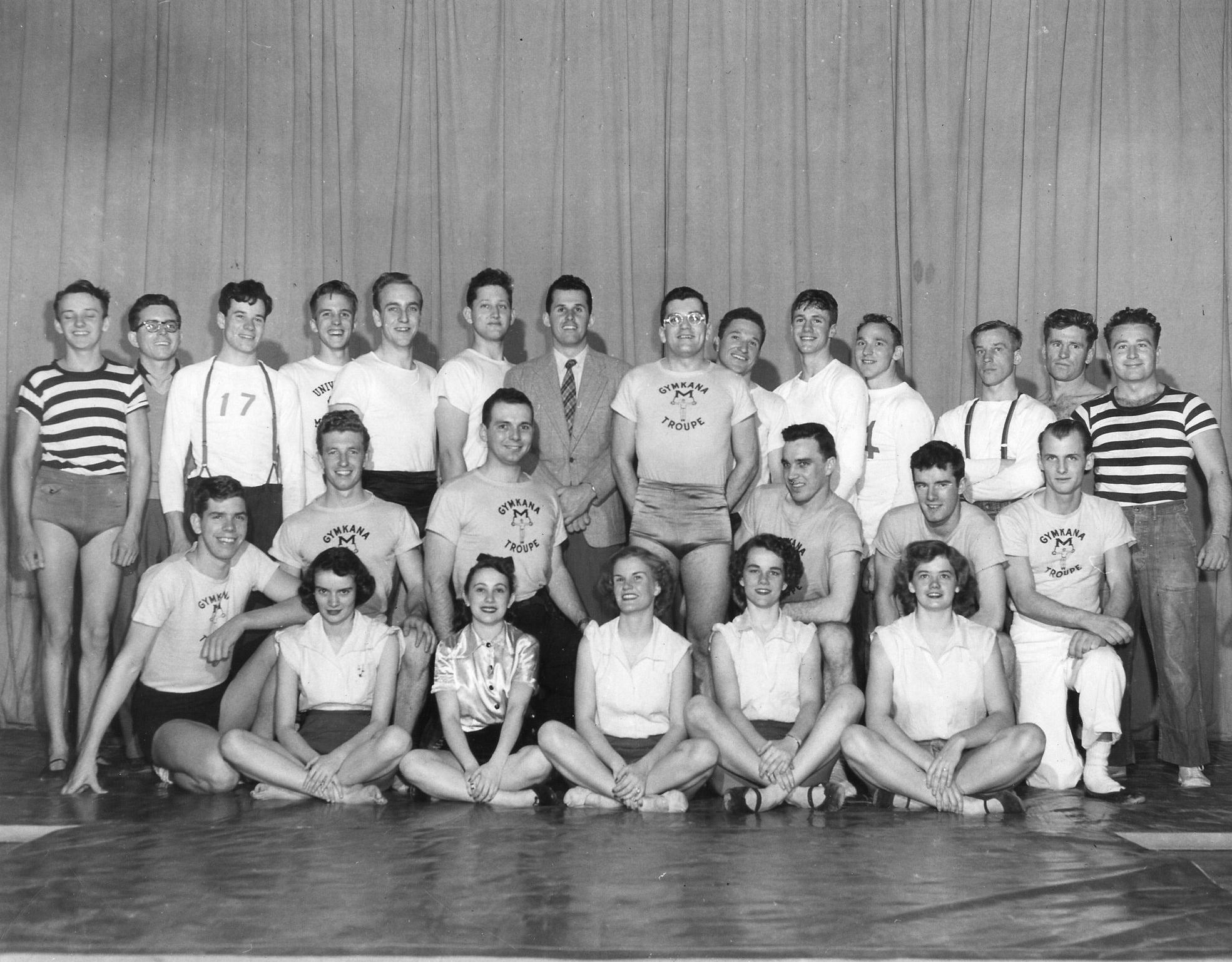 1951 Gymkana Troupe.jpg