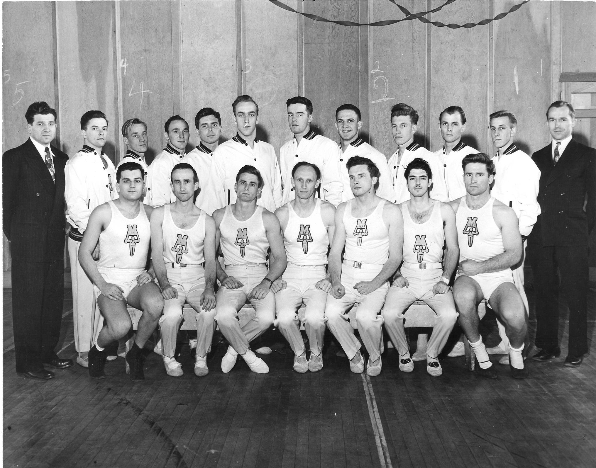 1951 Maryland Men's Gymnastics Team