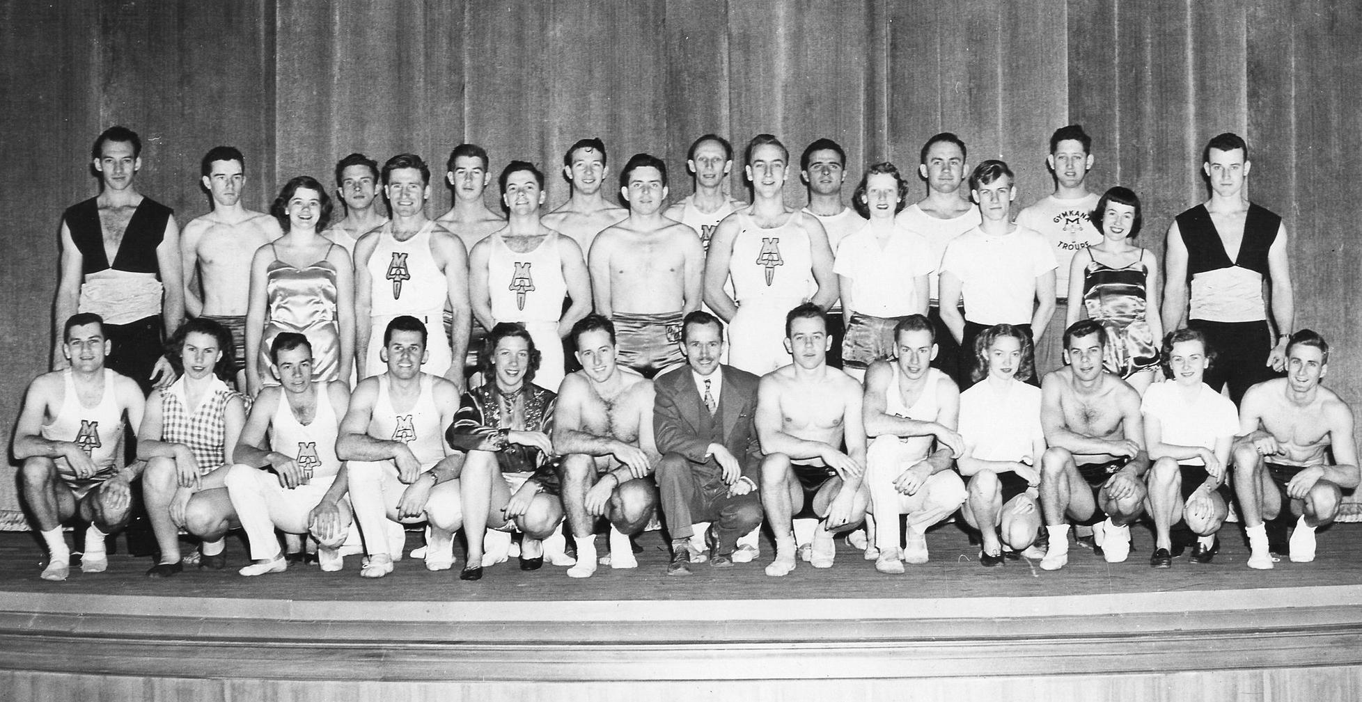 Gymkana Troupe 1950