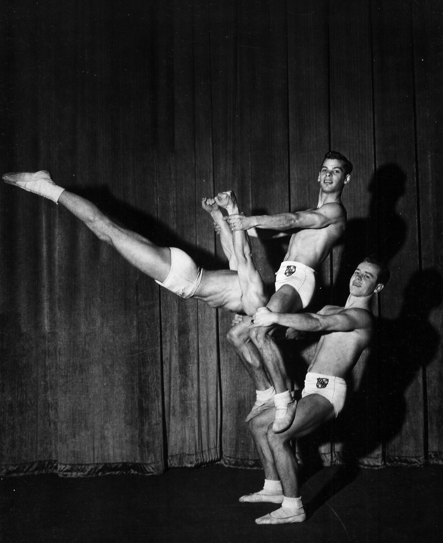 Men's Triples Balancing (1950)