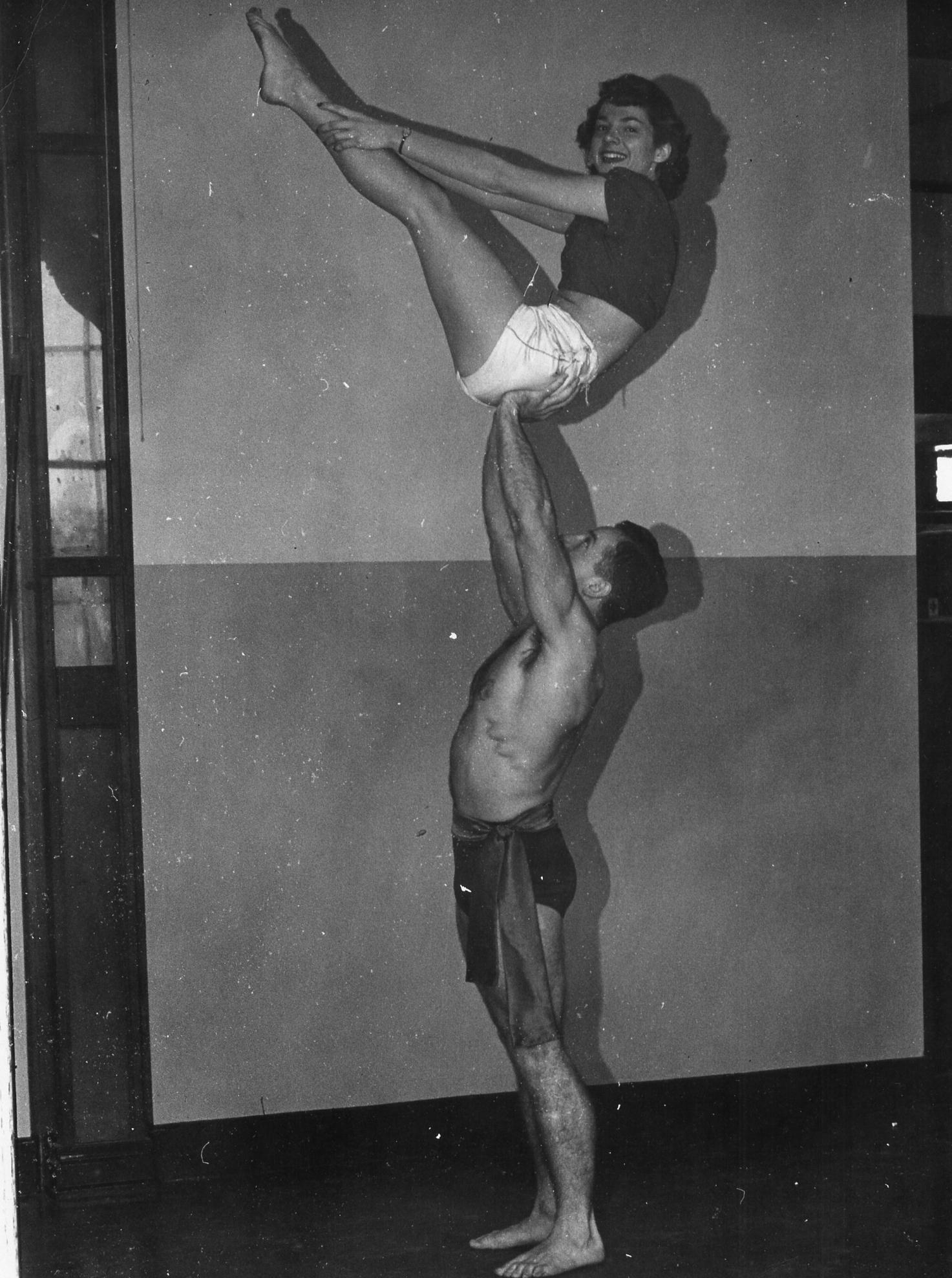 Mixed Doubles Balancing (1950)