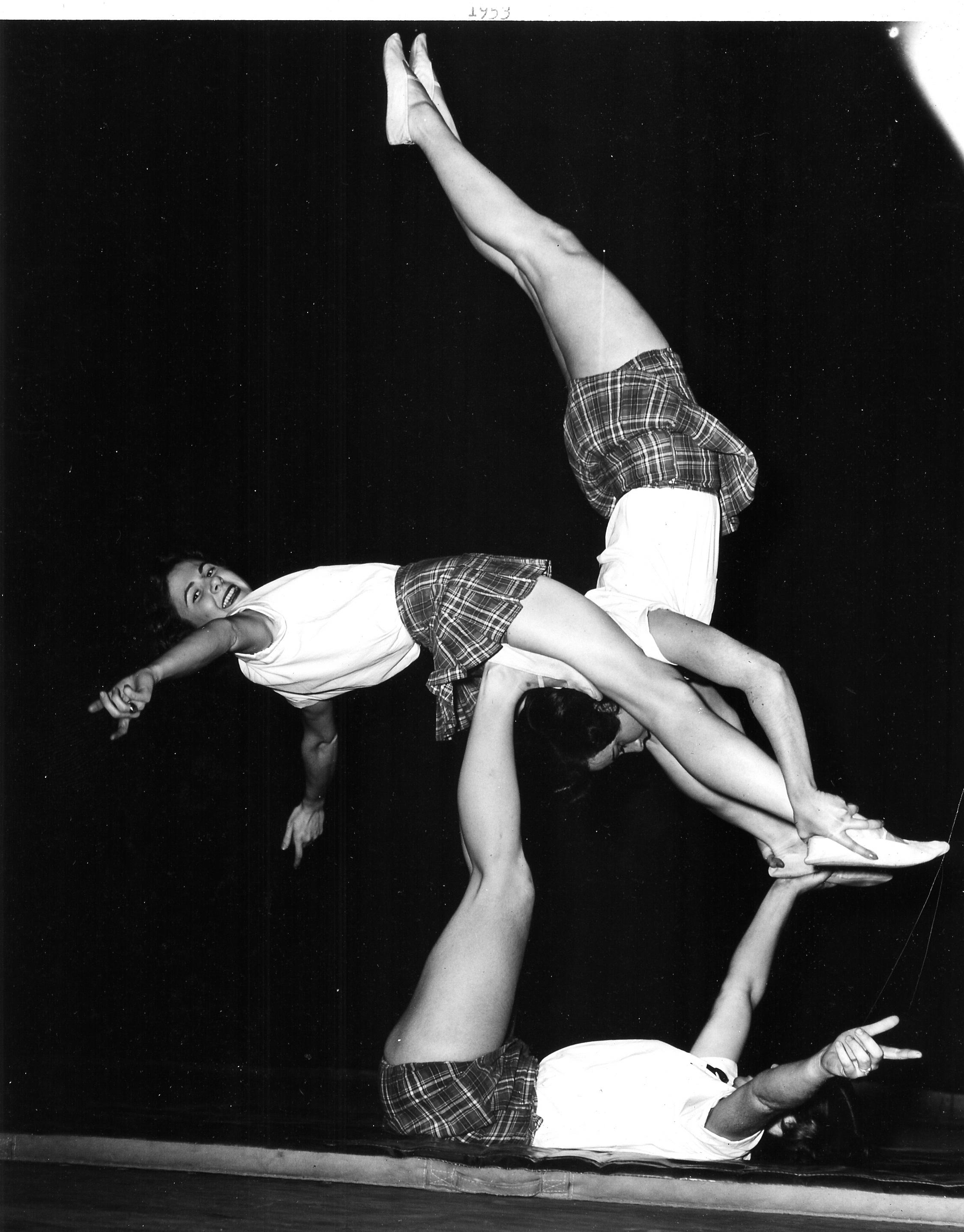 Women's Triples Balancing 1953