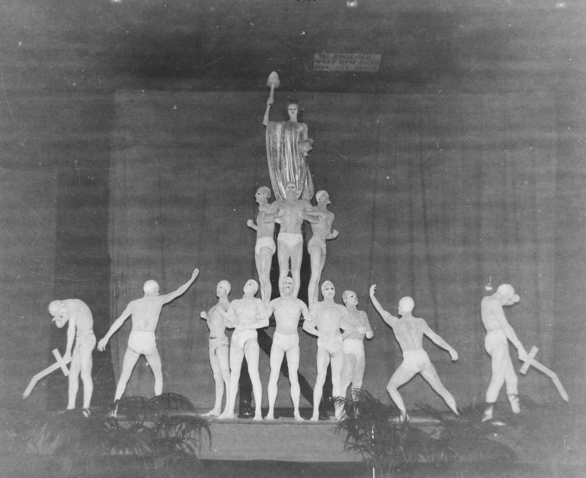 Closing Statuary Number of Second Annual Home Show 1948