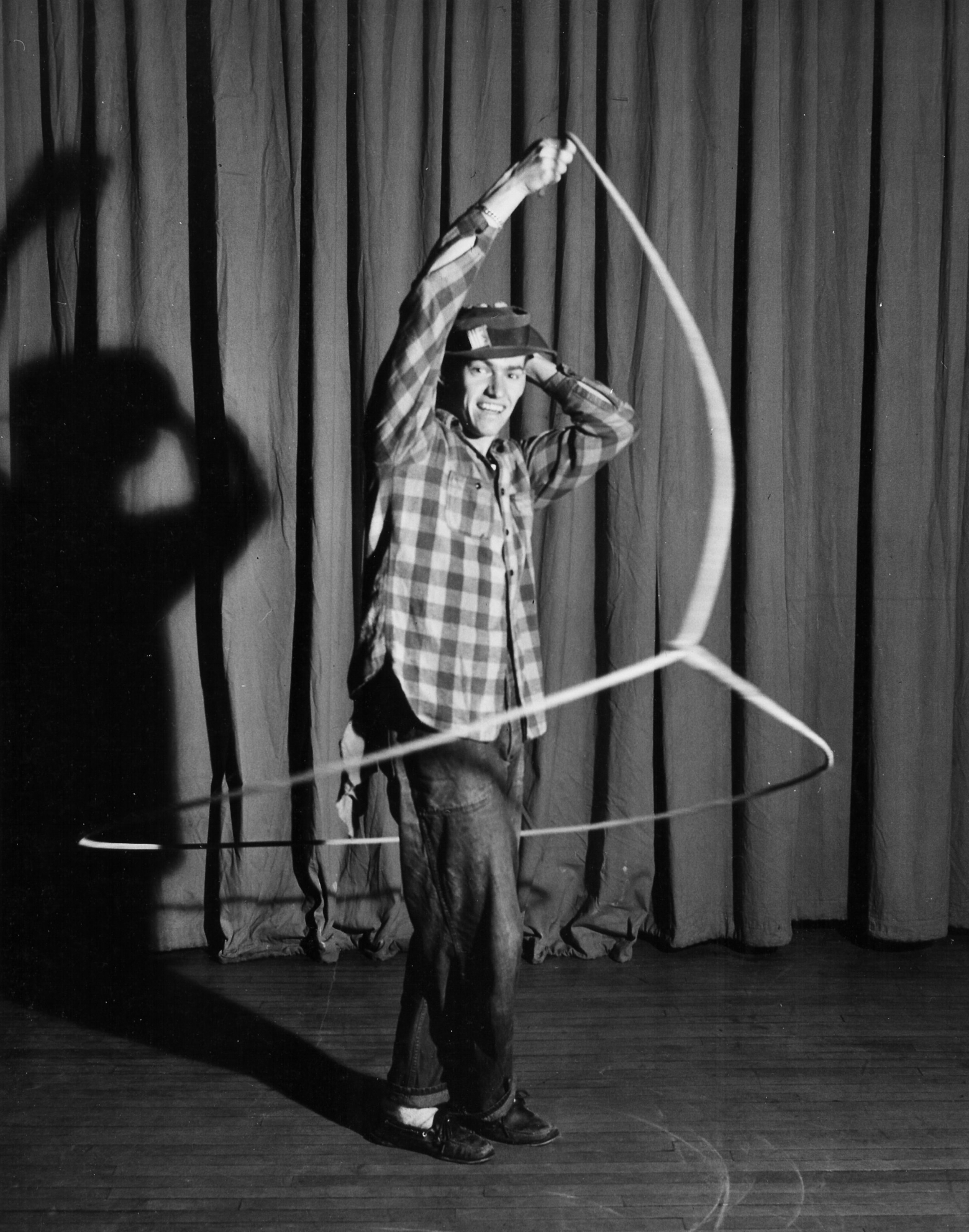"Gymkana ""Jack the Skipper"", Rope Skipping and Twirling 1948"