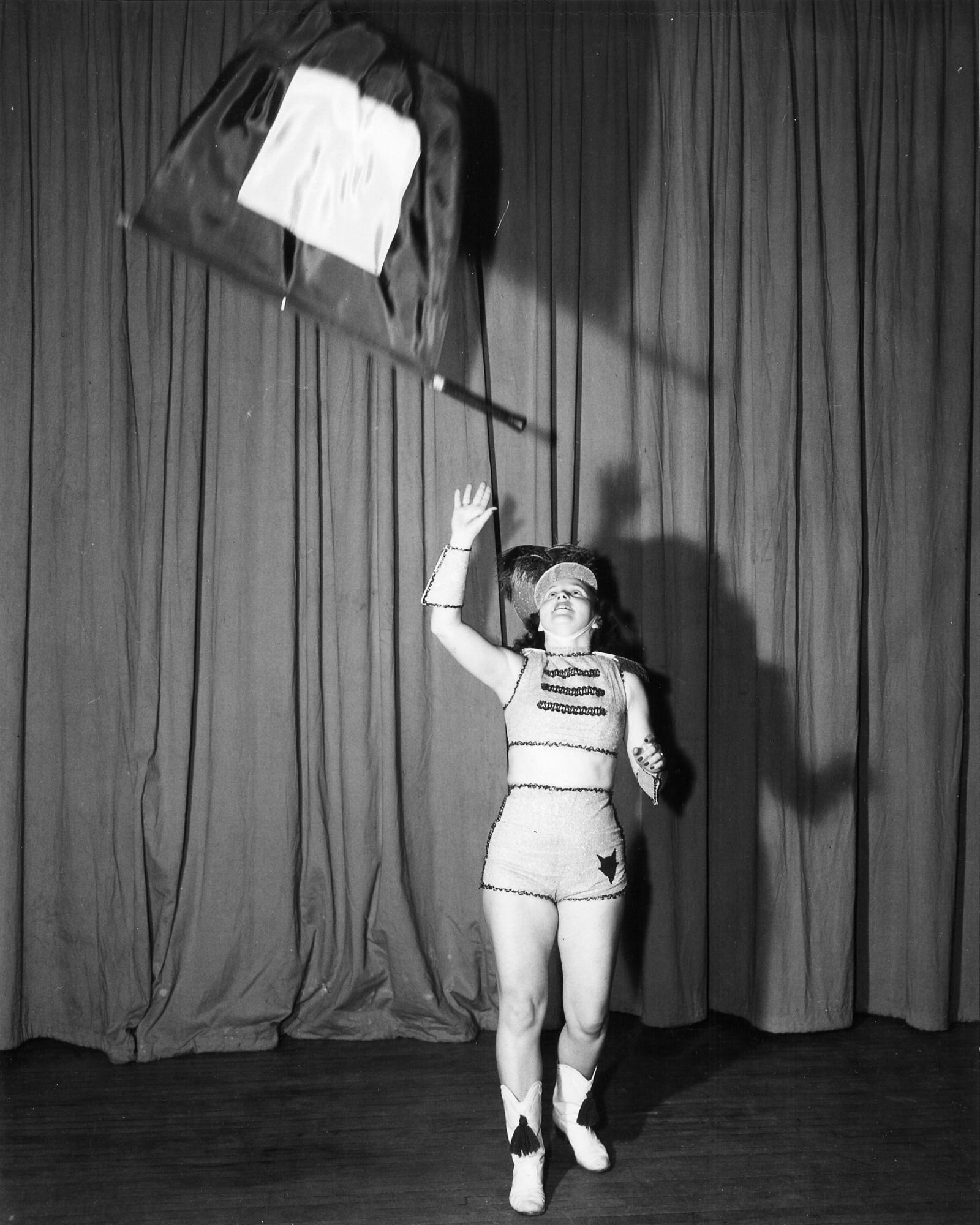 "Gymkana ""Flag Twirling"", Barbara Black 1948"