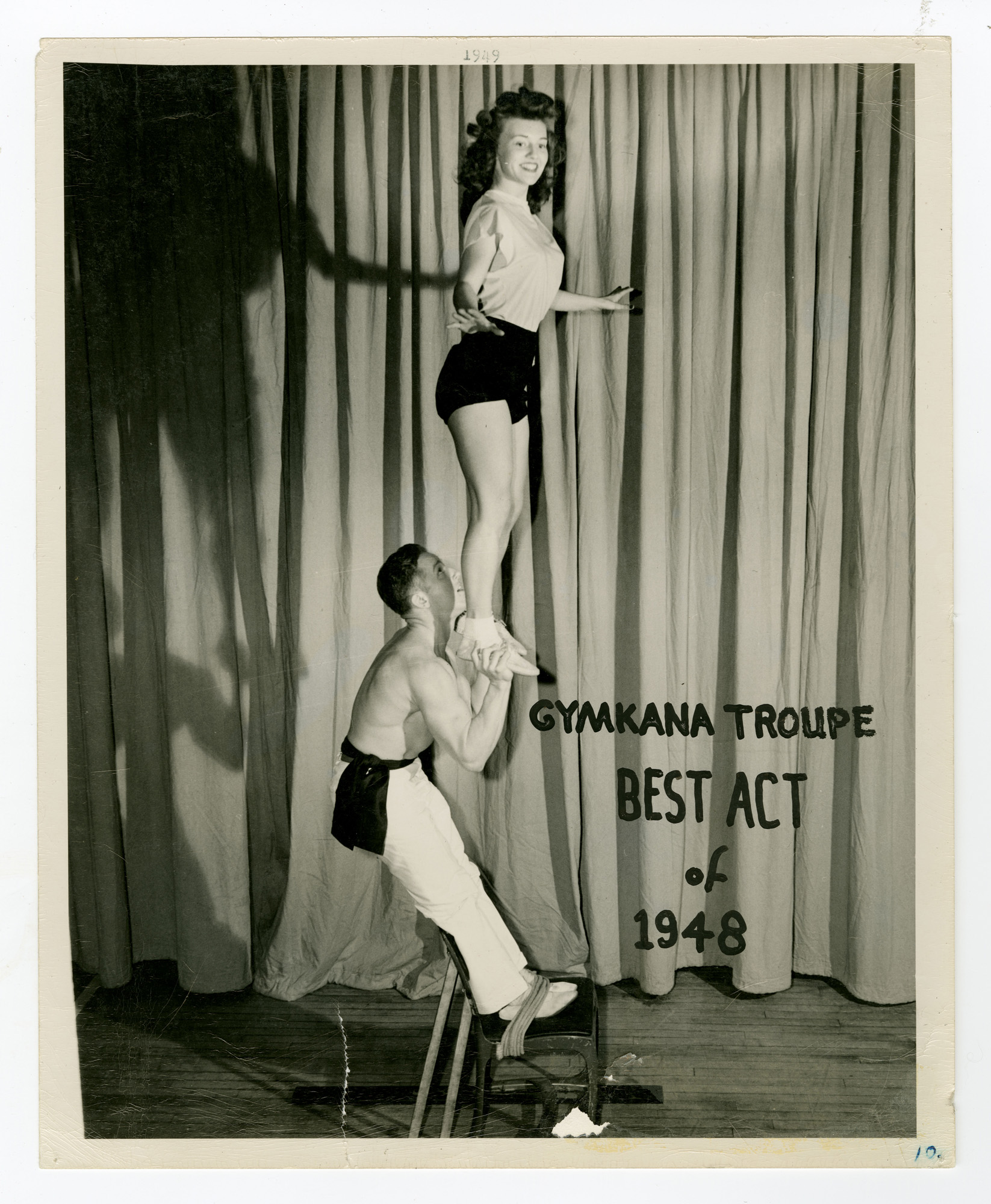 1948 - The Gladiator and His Lady (Roman Chair)