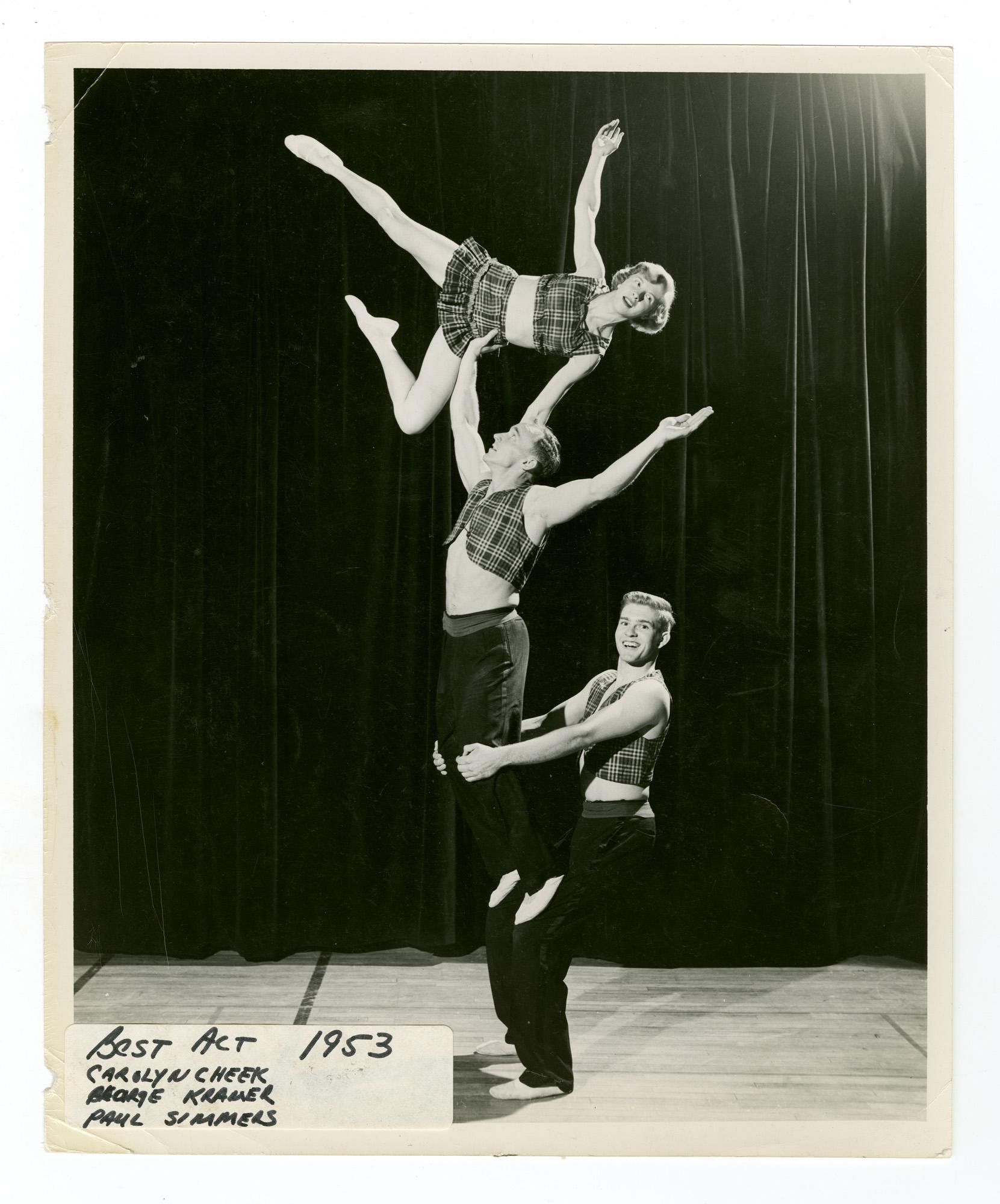 """1953 - """"The Terrapins"""" Mixed Triples Balancing"""