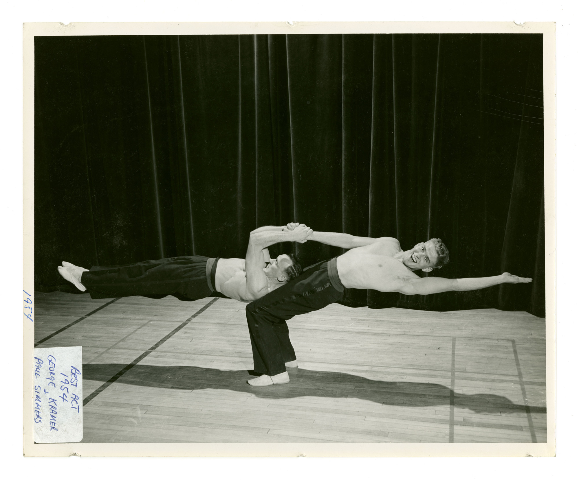 1954 - Men's Doubles Balancing