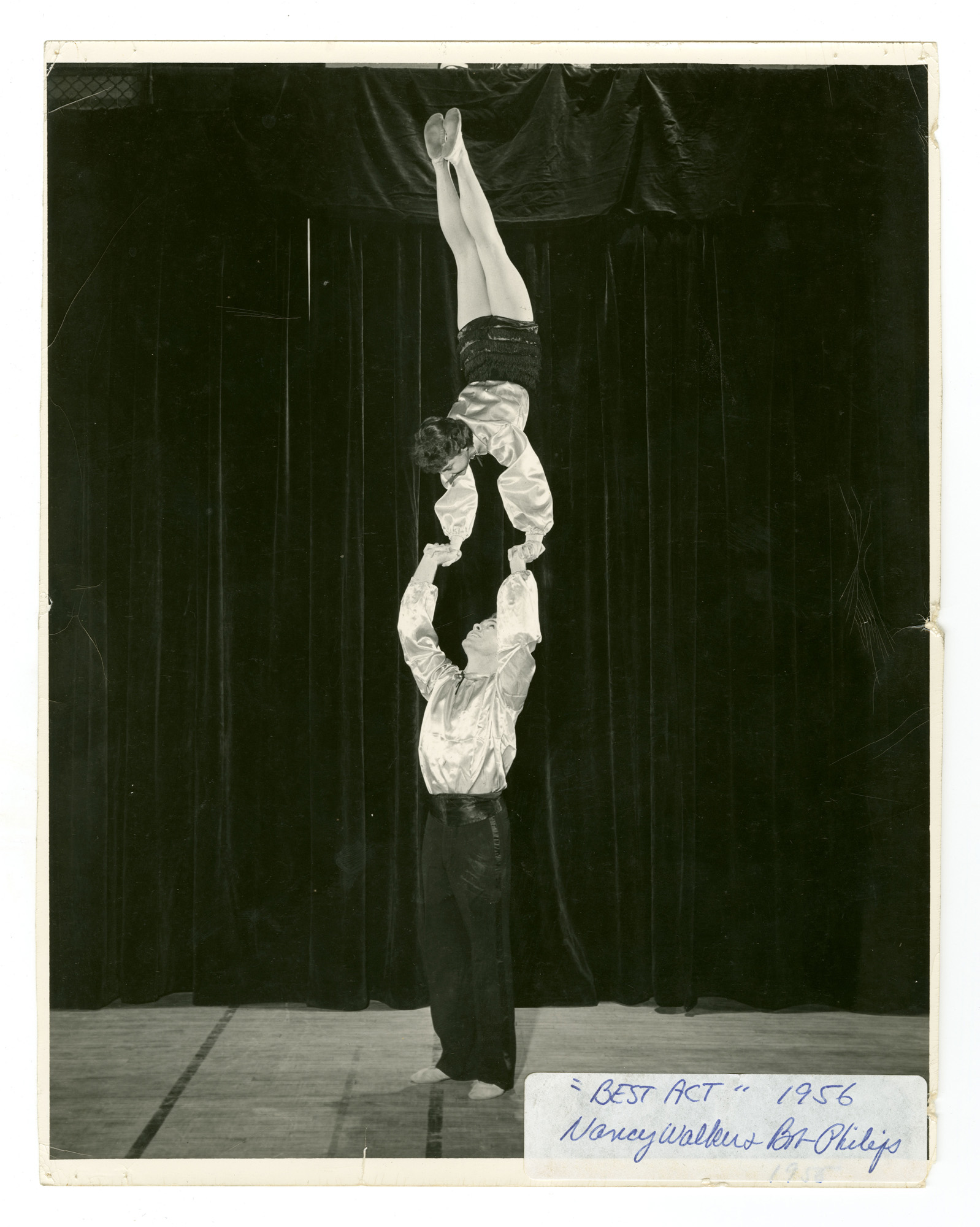 """1956 - """"The Twilighters"""" Mixed Doubles Balancing"""
