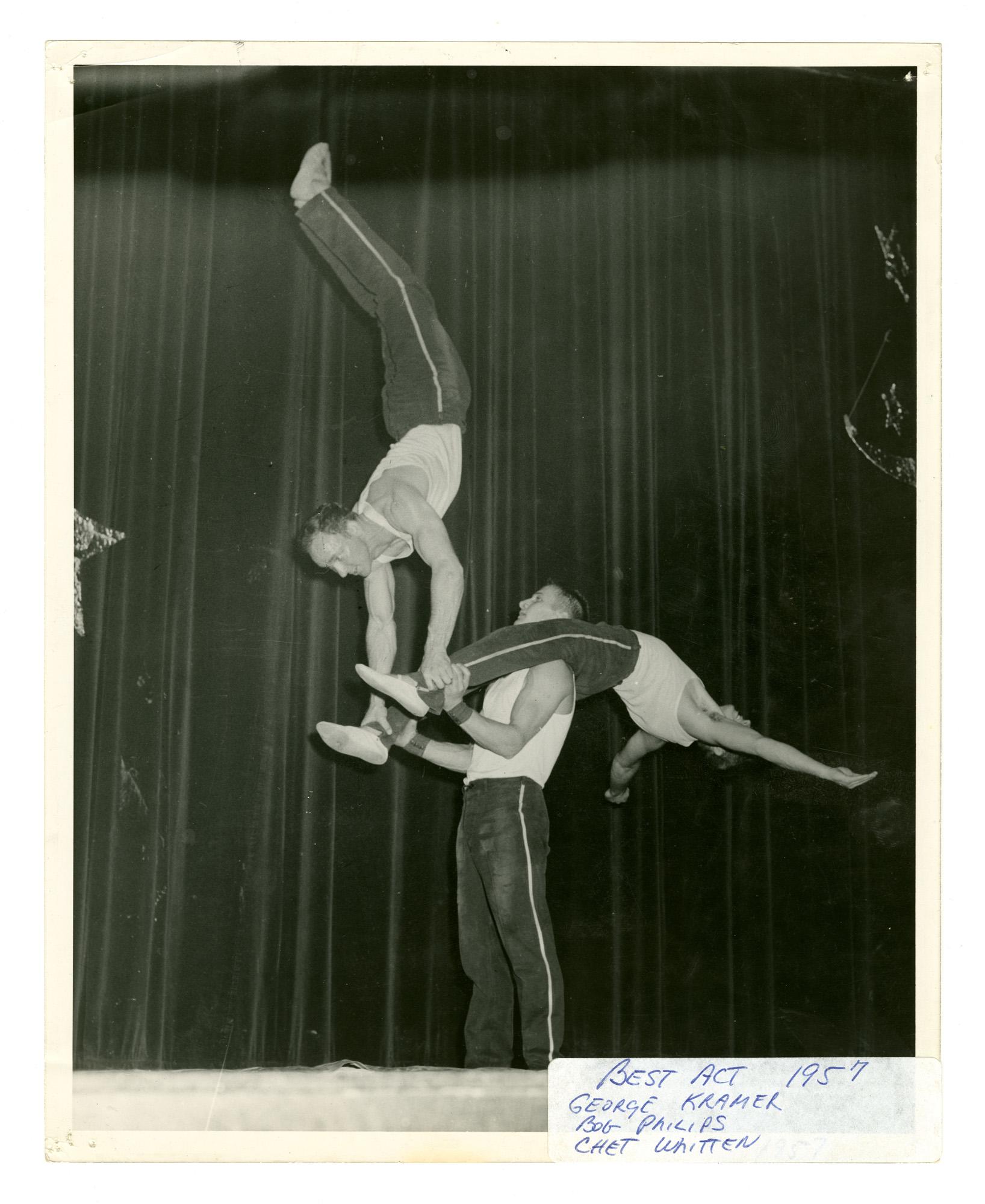 1957 - Men's Triples Balancing