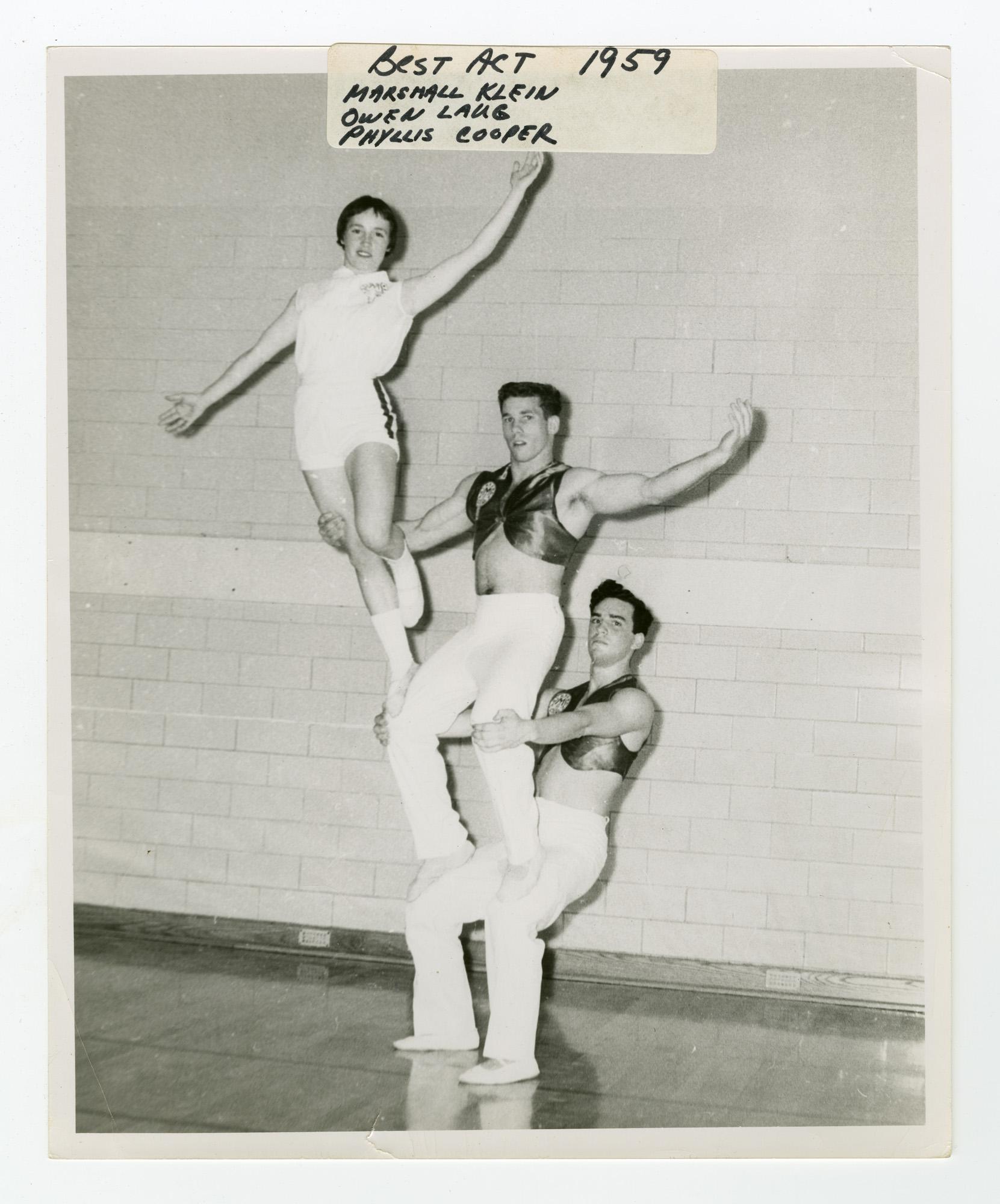 """1959 - """"The Highlanders"""" Mixed Triples Balancing"""