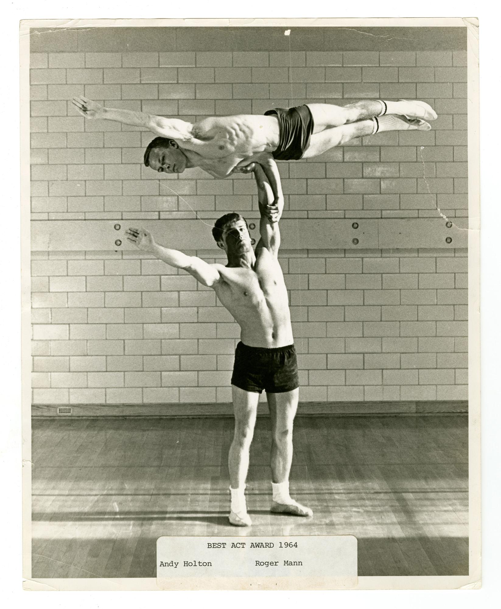 1964 - Men's Doubles Balancing
