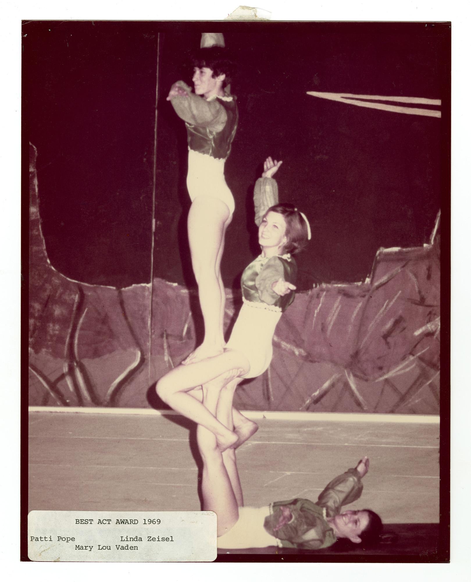 1969 - Women's Triples Balancing